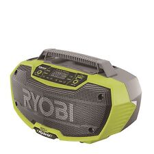 Ryobi One+ HYBRID RADIO 18V Bluetooth Two 7W Speaker,USB Charging Japan Brand