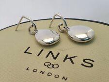 Genuine Links Of London HOPE Dome Drop dangle earrings 925 silver