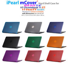 "NEW CLEAR mCover® HARD Shell CASE for 2016 11.6"" HP Chromebook 11 G5 series"