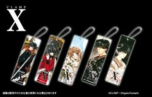 NEW Rare CLAMP X/1999 Mascot Acrylic Ball Chain Keychain 5 Types Official Japan