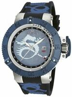 Invicta 13911 Subaqua Noma III Lume Blue Dragon Quartz GMT Mother-Of-Pearl Watch