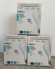 3 Cree - 100W Equivalent Daylight (5000K) BR30 Dimmable LED Light Bulb