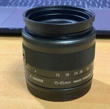Canon EF-M 15-45mm F/3.5-6.3 IS STM Camera Lens for M2 M3 M5 M6 M100 M10 M50