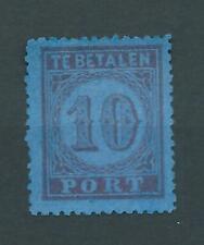 1870TG Nederland Portzegel  P2. postfris b-zegel zie foto's ..