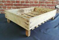 Caisse / clayette en bois idéale Déco Vintage H 17 L 64,5 l 45 cm réf 52