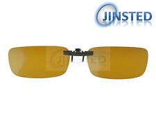 High Quality Yellow Clip On Polarised Sunglasses Clip-On Light Polarized ACP009