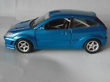 FORD FOCUS RS BLU METALLICO Rally Spec interni ITALIANO Bburago modello 1/24