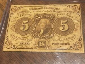 5 cents - US Postage Currency - Fractional Curency