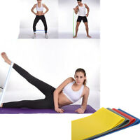 Elastic Resistance Bands Yoga Exercise Loop Stretch Band Weight Training Fitness