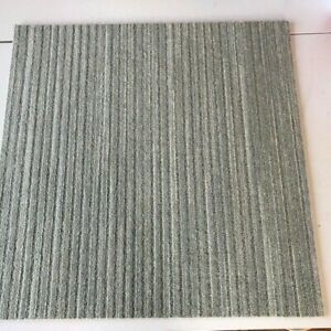 200 LUXURY CARPET TILES-THICK/HEAVY DUTY/LIGHT PASTEL NATURAL GREEN-72 SQ.METRES