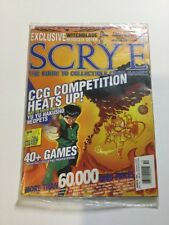 Scrye #64 MTG & CCG Price Guide Magazine *SEALED*