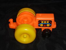 Fisher Price Little People Chunky Orange Farm Tractor 50th Anniversary