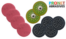 PRONET Abrasive Net Sanding Kit - 2 Backing pads,4 Pad Savers & 200 PRONET Discs