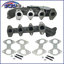 NEW LEFT RIGHT EXHAUST MANIFOLD KIT FITS FORD EXPEDITION F-150 TRUCK