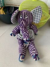 Kong Floppy Knots Elephant Rope Soft Toy For Dogs Large