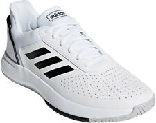 the latest e2d4d 4245e Adidas Mens Court Shoes White Size 11 Tennis Athletic Lace Up EVA Midsole  NWT