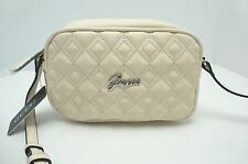 GUESS Woman's XBody Messenger Bag *Rylee* Ivory w/Silver Shoulder Purse *New $68