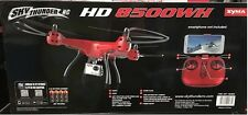 NEW original Syma SKY THUNDER RC HD 8500WH Drone  WiFi Live Stream HD Video