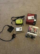 Casio Exilim Digital Camera-Box-accessories