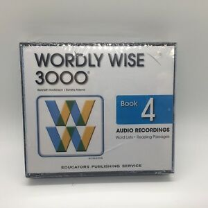 Wordly Wise 3000 2nd Edition Book 4 Audio CD  by Kenneth Hodkinson Free Ship