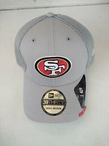 New San Francisco 49ers NFL Football New Era 39Thirty Hat Cap Size S/M Authentic