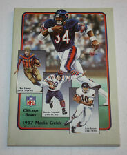 1987   Annual Media Guide   Chicago Bears