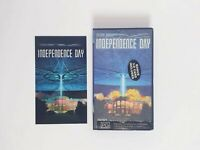 Independence Day VHS Movie + Bonus 3D Card - PAL