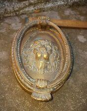 Vintage substantial Brass Door Knocker