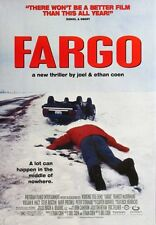"""""""FARGO"""" Movie Poster [Licensed-NEW-USA] 27x40"""" Theater Size (Coen Brothers) [v2]"""