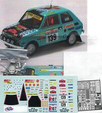 "Transkit 1/43 FIAT 126 ""4 ROMBI"" RALLYE dell'ELBA 1981/82  Arena Tk10"