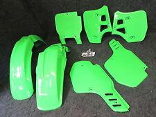 Kawasaki KX500 1989-2001 Doc Wob X-Fun complete green plastic kit PK3016