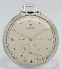 ROLEX Prince Imperial Chronometer 2939 Taschenuhr open face pocket watch 1930