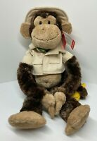 """""""Cheeky Charlie"""" Zoo Keeper Edition - Classic Hanging Chimp Monkey by Aurora"""