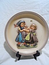 """10"""" Spring Dance 1980 Anniversary Plate - 2nd Edition - Hand Painted - Goebel"""