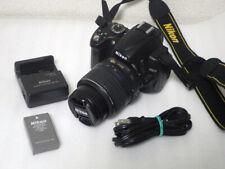 Nikon D D5000 12.3MP Digital SLR Camera - Black (Kit w/ AF-S DX 18-55mm Lens) JP
