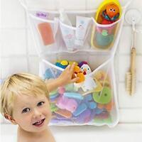 Bathroom Toddler Baby Bath Bathtub Toy Mesh Net Storage Bag Organizer Holder SO