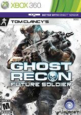 Tom Clancy's Ghost Recon: Future Soldier 2012 Microsoft Xbox 360 Video Game NIB