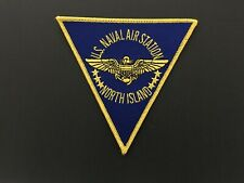 Us Naval Air Station North Island Patch Measures 5 1/4 Inches Triangle