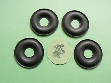 KEF DONUT DUST CAPS ( 4 ) -- ALL MODELS -- MADE IN USA