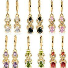 Aretes Largos, Pendientes en Oro  GoldFilled. Gold Filled Earrings