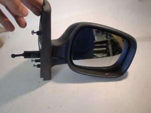 rétroviseur droit manuel de renault kangoo noir  , 8200298741 (réf 6461 )