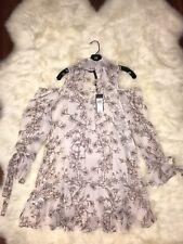 bcbg cold shoulder dress NWT 2