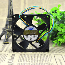 AVC DA08020B12U 12V 0.46A 4800RPM 8020 8cm 4-wire double ball chassis fan