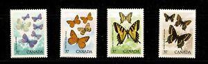 U0389   CANADA1988 Canadian Butterflies   MNH