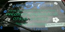 Custom, Business Advertising, Car Window Graphics,  Sticker / Decal, Car, Van