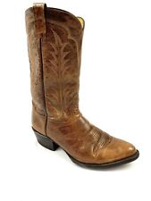 Tony Lama Men's Size 10D Cowboy Western Boots Brown Leather Style 5784