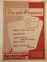 """ Das gute Programm "" Heft 38 - Künstlerexemplar"
