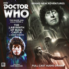 DOCTOR WHO Big Finish CD Tom Baker 4th Doctor #5.2 THE LABYRINTH OF BUDA CASTLE