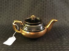 6 1/4� Gibson & Sons Laye Davenport Sevres Black & Gold Teapot