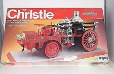 NEW SEALED ~ THE CHRISTIE 1911 AMERICAN STEAM FIRE ENGINE ~ MPC 1:12 MODEL KIT